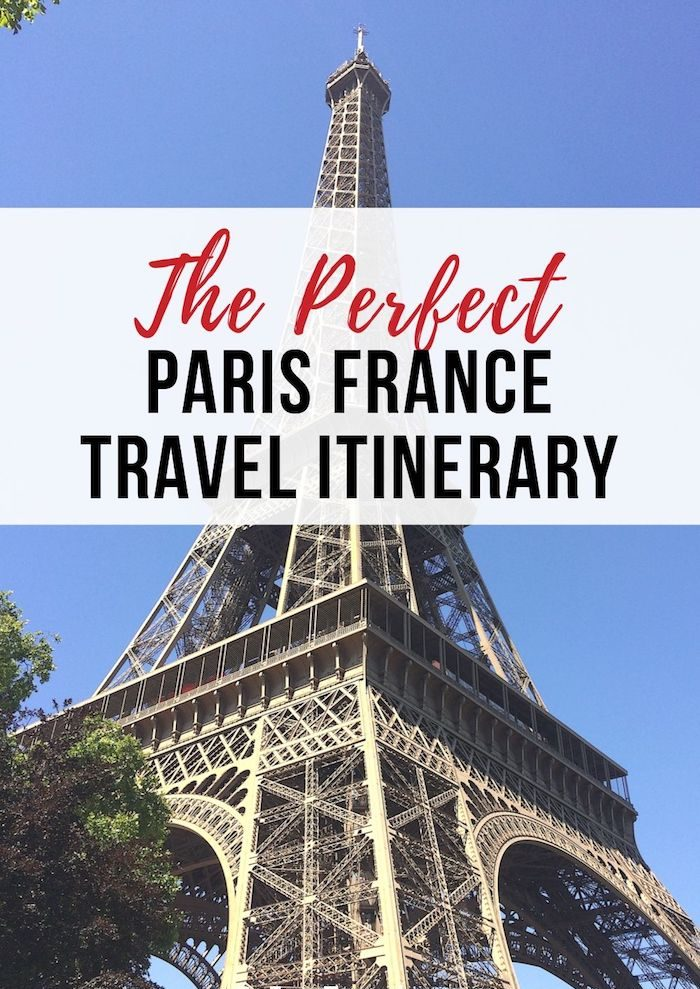 Perfect 2 4 Days Paris Itinerary A Guide To The Best Things To Do Fun Self Guided Walking Tour